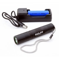 Gulff Pro UV Flashlight, 365nm / 3W