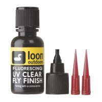 Loon UV Clear Fly Finish - Fluorescing (1/2 Oz)
