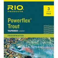 Leader Rio Powerflex Trout - 3 Pack