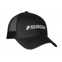 Sapca Sage Mesh Back  Black