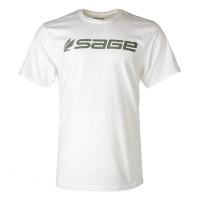 Sage Logo Tee White