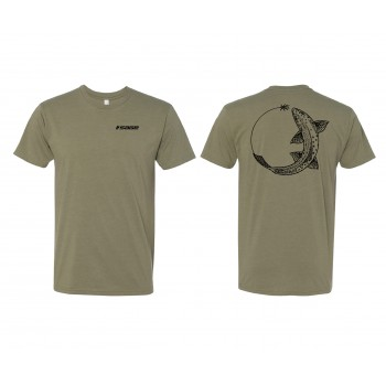 Sage Chase Tee Trout Light Olive