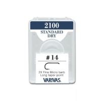 Varivas 2100 Fly Hooks - Standard Dry