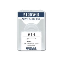 Varivas 2120WB Fly Hooks - Wave Barbless