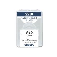 Varivas 2210 Fly Hooks - 4X Fine Curved Shank