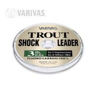 Varivas Trout Shockleader Fluorocarbon  Tippet